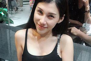 Ca sĩ Ivy Trần gợi cảm hút mắt trước khi bị nổ túi ngực
