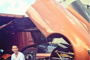 Siêu xe 'thần gió' gần trăm tỷ đồng của đại gia Minh nhựa chính thức được đeo biển