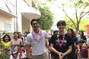 Choi Siwon và đàn em tới Việt Nam làm từ thiện