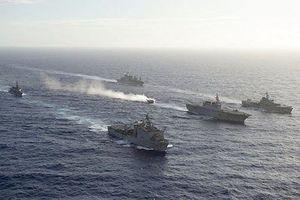 Mỹ, Nhật Bản bắt đầu tập trận quân sự 'Keen Sword' trên biển