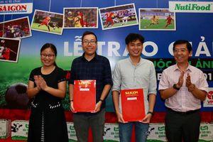 'Nỗ lực' ẵm giải ảnh đặc biệt của Nuti Cafe V-League