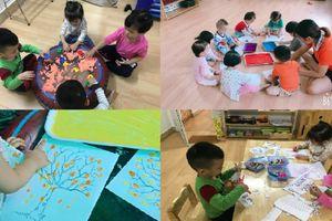 Rộn ràng lễ hội Halloween 'siêu dễ thương' tại trường mầm non Hà thành