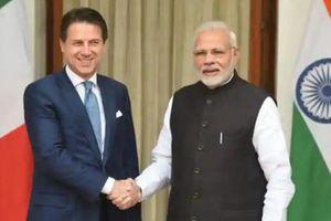 Ấn Độ-Italy bàn cách thúc đẩy hợp tác thương mại và đầu tư