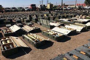 An ninh quân đội Syria phát hiện một số lượng lớn vũ khí ở Quneitra và Daraa