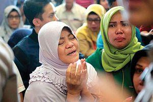 Máy bay chở 188 người rơi ở Indonesia mới khai thác 75 ngày