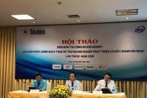 Các giải pháp và chính sách thuế hỗ trợ phát triển doanh nghiệp
