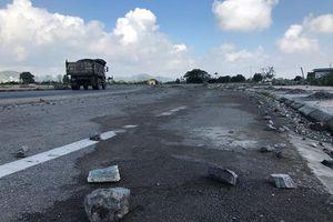 Ninh Bình: Nham nhở, mất an toàn giao thông trên tuyến đường 1.700 tỷ đồng