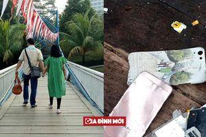 Bức ảnh đôi vợ chồng sánh vai bên nhau trong vụ máy bay Indonesia rơi gây xúc động