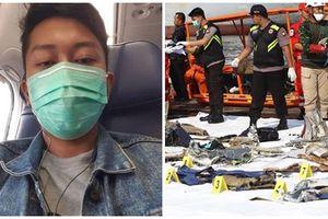 Vụ rơi máy bay ở Indonesia - Rợn người nhìn tấm ảnh 'tự sướng' cuối cùng trên chuyến bay định mệnh