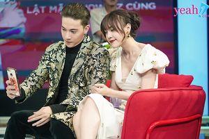 ST (Sơn Thạch) và Lan Ngọc 'tình bể bình' trên phim trường 'Gái già lắm chiêu 2' mặc dù là đối thủ trên phim