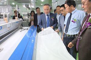 Khánh thành nhà máy dệt vốn đầu tư hơn 1.700 tỷ đồng tại Nam Định