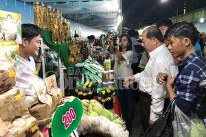 Phiên chợ Nông nghiệp xanh 2018 - Kết nối nông sản Đồng Tháp với người tiêu dùng