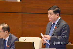 Bộ trưởng 'than' bài toán đầu tư công khó giải
