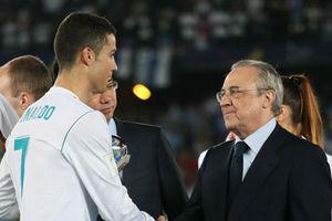 C.Ronaldo tiết lộ lý do thực sự rời khỏi Real Madrid