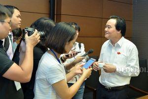 Bộ trưởng Bộ GD&ĐT Phùng Xuân Nhạ: Sẽ xử lý trách nhiệm người làm sai