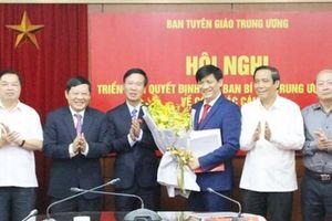Thứ trưởng Bộ Y tế Nguyễn Thanh Long làm Phó Trưởng Ban Tuyên giáo T.Ư