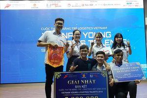 Trường Đại học Giao thông vận tải TP. Hồ Chí Minh giành giải Nhất vòng Bán kết khu vực phía Nam cuộc thi 'Vietnam Young Logistics Talent 2018'