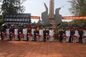 Truy điệu và an táng 13 hài cốt liệt sĩ được tìm thấy ở Đồng Nai