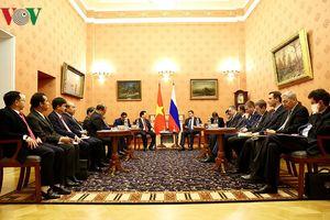 Khóa họp lần thứ 21 Ủy ban liên Chính phủ Việt - Nga