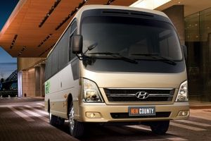 Hyundai Thành Công chính thức tham gia thị trường xe khách