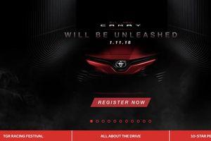 Toyota Camry 2019 lộ thông tin kỹ thuật