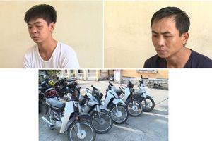 Bắt tạm giam 2 siêu đạo chích trộm 13 xe máy tại TP Thái Bình