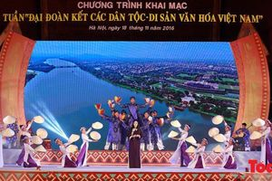 Nhiều hoạt động đặc sắc tại Tuần 'Đại đoàn kết các dân tộc - Di sản văn hóa Việt Nam'