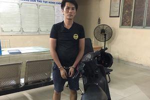 Gã đàn ông nghiện ngập cướp giật túi xách của cụ bà ở trung tâm Sài Gòn