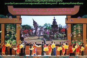 Ngày hội 'Thắm tình hữu nghị đặc biệt Việt – Lào'
