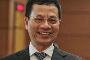 Lần đầu 'đăng đàn' tại Quốc hội, Bộ trưởng Nguyễn Mạnh Hùng khẳng định: Không thể bỏ trận địa không gian mạng