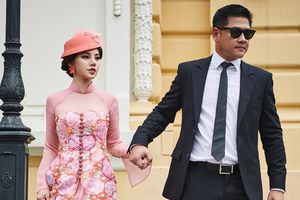 Nam diễn viên, siêu mẫu Hải Anh tái xuất lịch lãm bên Jolie Nguyễn