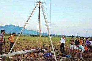 Tập đoàn Điện lực Việt Nam thông tin vụ điện giật khiến 4 người chết ở Hà Tĩnh