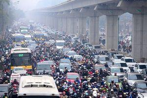 Hà Nội: Lập đề án thu phí xe cơ giới vào nơi có nguy cơ ùn tắc, ô nhiễm môi trường