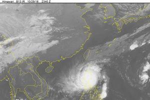 Dự báo thời tiết 31.10: Bão số 7 Yutu tấn công khiến biển động dữ dội, không khí lạnh tiếp tục 'ghé thăm' miền Bắc