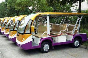 Lâm Đồng thí điểm sử dụng xe điện hoặc động cơ xăng chở khách tham quan