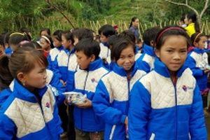 'Áo ấm cho em' ở Hà Giang