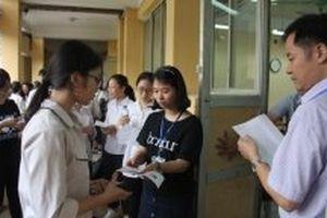 Hà Nội công bố đề thi tham khảo vào lớp 10 THPT