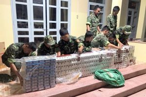 Bộ đội Biên phòng An Giang: Bắt giữ 3.000 gói thuốc lá ngoại nhập lậu