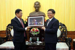 Lãnh đạo thành phố tiếp Tân Tổng lãnh sự Lào