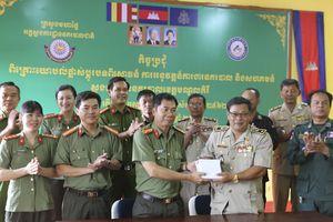 CA Đắc Nông và CA tỉnh Mondulkiri (Campuchia) hợp tác phòng chống tội phạm