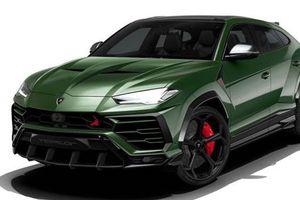 Siêu SUV Lamborghini Urus độ xe quân đội Nga cực chất