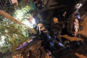Phó trưởng Công an thị xã lái ô tô gây tai nạn lên tiếng?