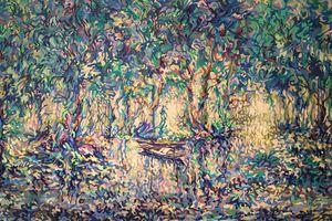 'Vũ điệu sắc màu': Nơi hội ngộ giữa hội họa và âm nhạc
