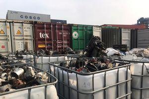 Trụ sở công ty nhập rác phế liệu lậu là cửa hàng rửa xe và nhà trọ