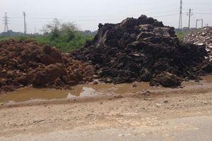 Hà Nội: Chấn chỉnh việc thu gom, tập kết, vận chuyển đất thải