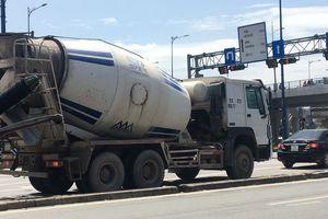 TP.HCM: Các đoàn xe bồn bê tông tiếp tục 'vượt rào'?