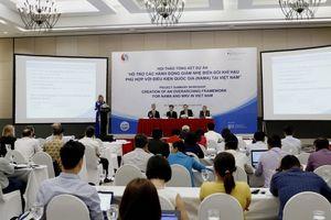 Đức giúp Việt Nam các hành động giảm nhẹ biến đổi khí hậu