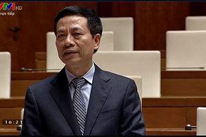 Bộ trưởng Nguyễn Mạnh Hùng: Xây dựng cơ sở dữ liệu công dân để giải quyết tình trạng 'sim rác'