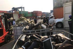 Doanh nghiệp 'ma' ở TP.HCM đứng tên nhập nhiều container phế liệu độc hại