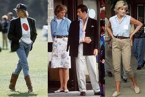 Học Công nương Diana - biểu tượng thời trang trường tồn cách diện denim sành điệu thu hút ngời ngời